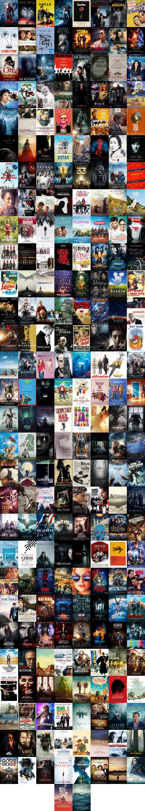 Movies 2016