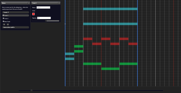 Work on web MIDI editor continues… – The New Blather